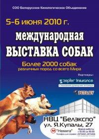 Международная выставка собак под эгидой FCI