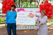 Детскому дому №7 передан чек на сумму более 18 миллионов рублей