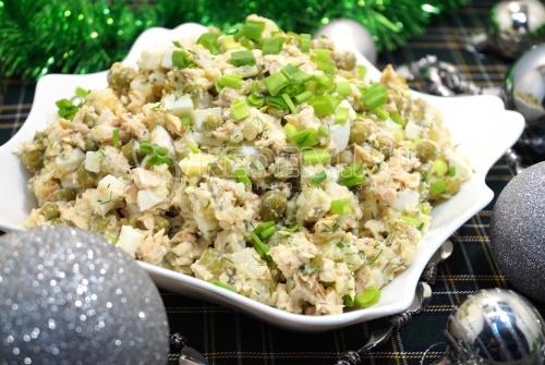 Рыбный салат 1