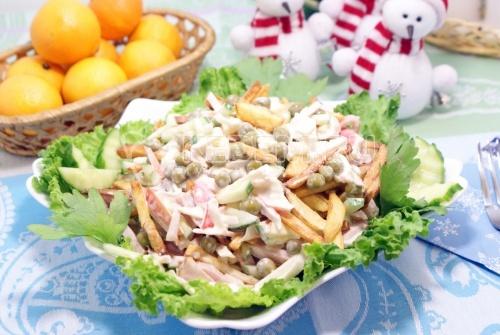 Салат «Новогодний сюрприз» 1