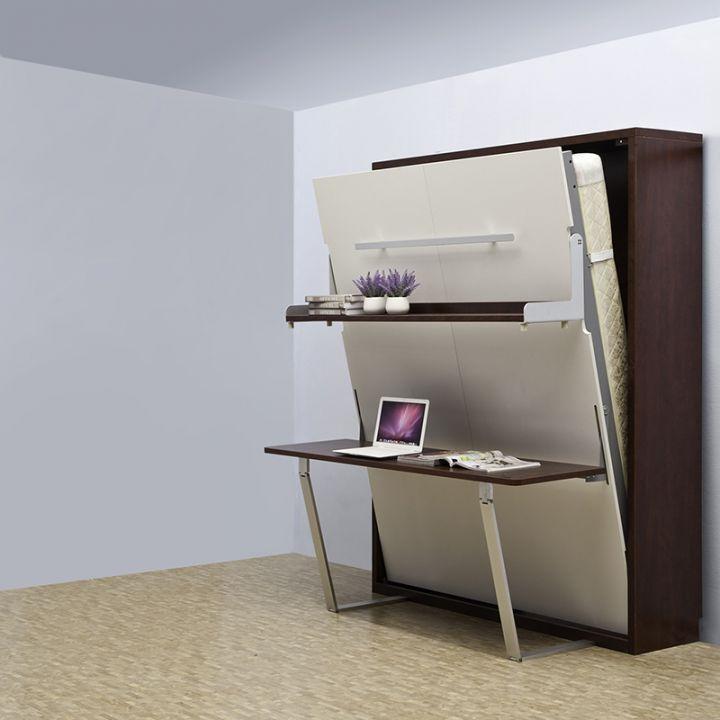 Современная кровать-трансформер – не просто спальное место, но и шкаф, стол и не только 1