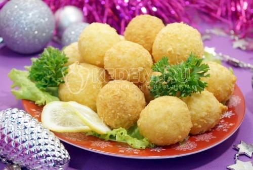 Сырные шарики 1