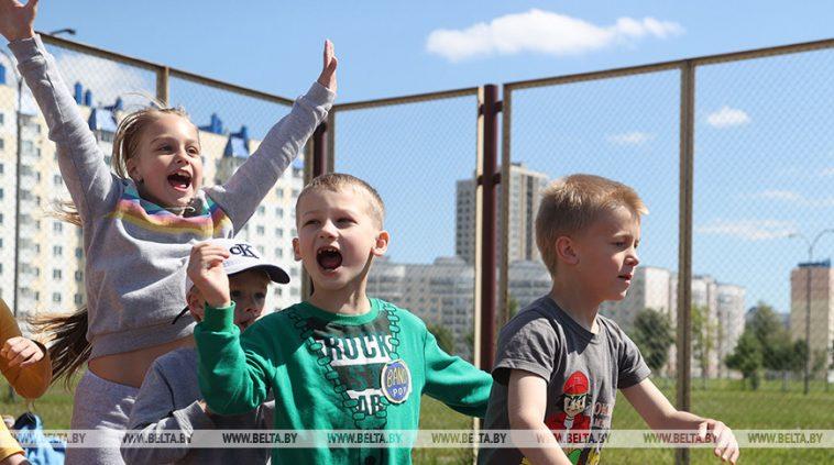 ФОТОФАКТ: Школьные оздоровительные лагеря открываются в Могилеве 1